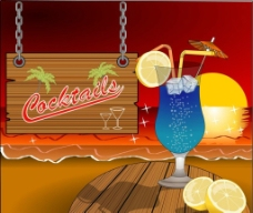 夏季冷飲飲料圖片