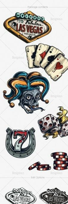 古典鱼纹装饰画图片_卡通设计_广告设计_图行天下图库