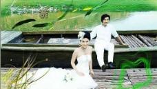 西泊桥畔婚纱摄影PSD模板(4)