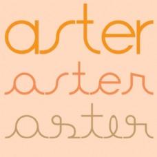 ASTER字体