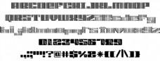 ROF顶字体