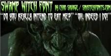 沼泽女巫的字体