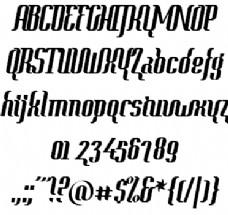语境的字体