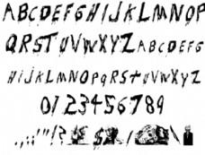 吸血鬼的字体