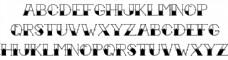 纹身墨水字体