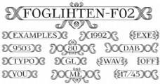 foglihtenfr02字体