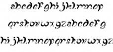 幻想曲的字体