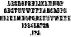 人物的字体