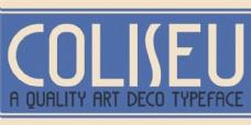DK Coliseu的字体