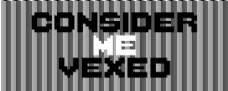 considermevexed字体
