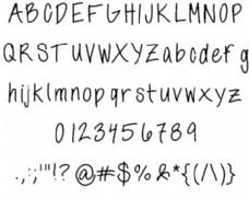 annshandwriting字体
