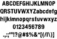 armychalk字体