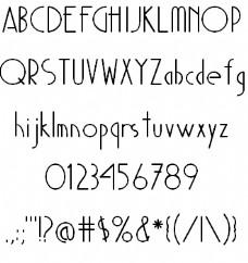 魔多的字体