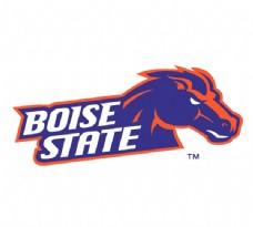 Boise_State_Broncos(4) logo设计欣赏 Boise_State_Broncos(4)大学LOGO下载标志设计欣赏