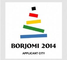 Borjomi_2014_Applicant_City logo设计欣赏 Borjomi_2014_Applicant_City运动LOGO下载标志设计欣赏