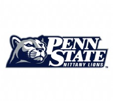 Penn_State_Lions(3) logo设计欣赏 Penn_State_Lions(3)综合大学LOGO下载标志设计欣赏