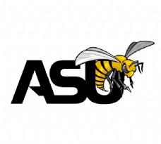 Alabama_State_Hornets logo设计欣赏 Alabama_State_Hornets大学标志下载标志设计欣赏