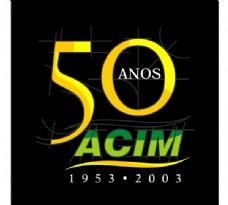 ACIM_50_Anos logo设计欣赏 ACIM_50_Anos工业标志下载标志设计欣赏