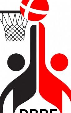 Basketball_Federation_of_Denmark logo设计欣赏 Basketball_Federation_of_Denmark运动标志下载标志设计欣赏
