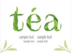 茶海报背景04矢量图