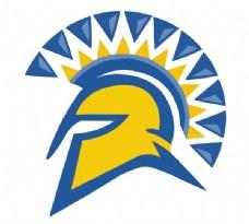 San_Jose_State_Spartans logo设计欣赏 San_Jose_State_Spartans高级中学LOGO下载标志设计欣赏