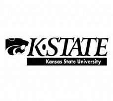K-State(1) logo设计欣赏 K-State(1)高等学府标志下载标志设计欣赏