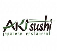 Aki_Sushi logo设计欣赏 Aki_Sushi知名食品标志下载标志设计欣赏