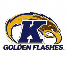 Ken_State_Golden_Flashes(1) logo设计欣赏 Ken_State_Golden_Flashes(1)高等学府标志下载标志设计欣赏
