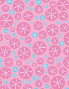 几何花形图案矢量图