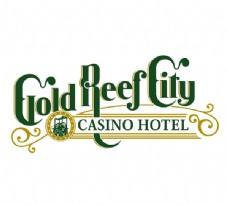 Gold_Reef_City logo设计欣赏 Gold_Reef_City宾馆业LOGO下载标志设计欣赏