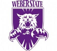 Weber_State_Wildcats logo设计欣赏 Weber_State_Wildcats知名学校LOGO下载标志设计欣赏