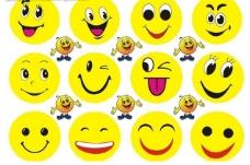 笑脸全集模板素材