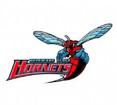 Delaware_State_Hornets(2) logo设计欣赏 Delaware_State_Hornets(2)教育机构标志下载标志设计欣赏