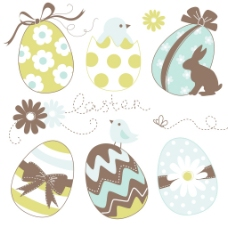 可爱的复活节蛋定