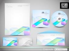 专业的企业形象套件或商业套件为您的业务包括CD封面