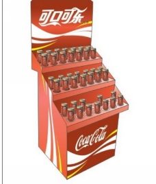 制作可口可乐POP展架设计免费下载