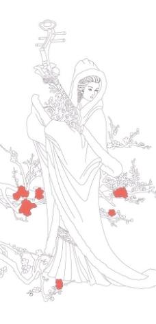 竹石简笔画图片