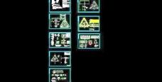 三角形广告牌钢结构设计图