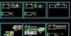 消防水泵房及发电机房配电系统图