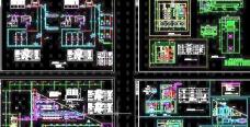 风冷模块机组平面与系统图