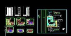 高层商业办公楼建筑设计方案图
