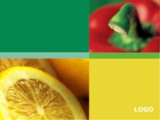 健康绿色PPT模板