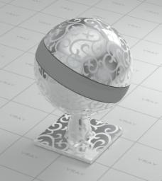金属花纹素材材质球
