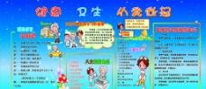中小学健康卫生宣传栏图片