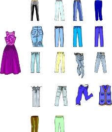 衣服设计矢量图CDR图片