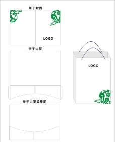 冊子 手提袋設計圖片