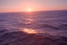 流动的海水