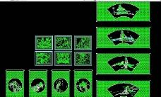 CAD制作的中国画图片