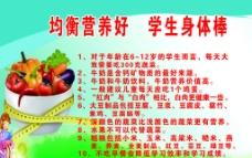 小學生飲食教育圖片