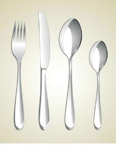 西餐餐具刀叉勺子圖片